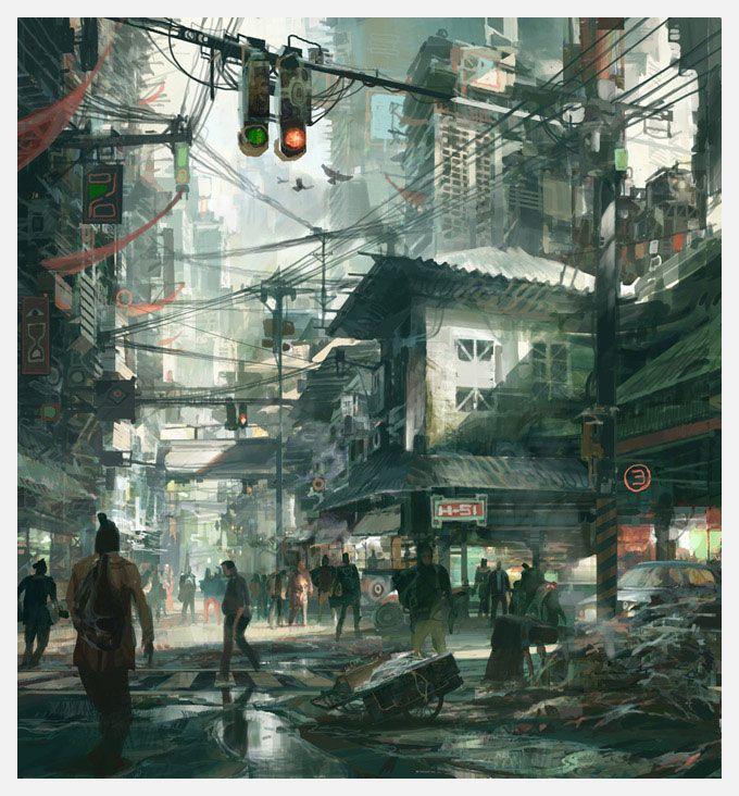 New Beijing - street scene