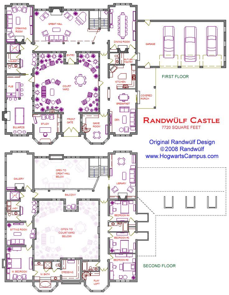 ideas about Castle House Plans on Pinterest Mansion floor