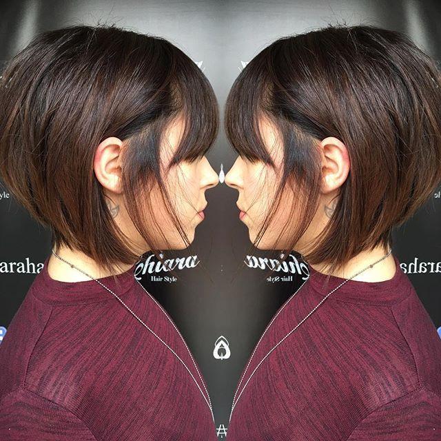 #brown  #trend #haircolor #haircut ..#nice #hair ...#fashion  #quality @chiara_hairstyle