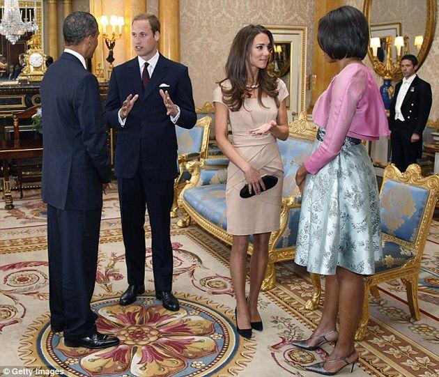 Príncipe Guillermo Pide A Obama Redoblar La Seguridad En La Casa Blanca Para Su Visita