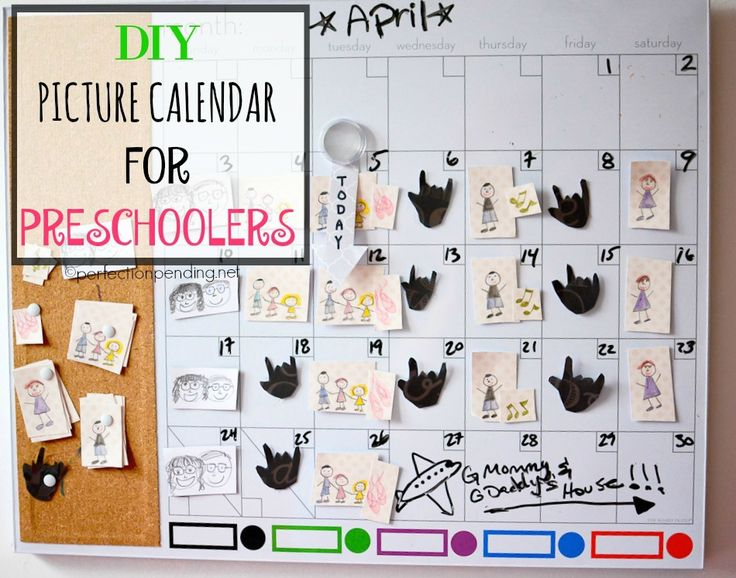 DIY Picture Calendar