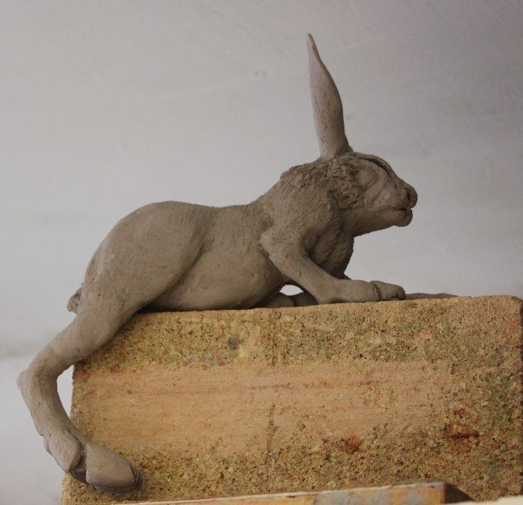Work in progress. Aylesford School of Ceramics.