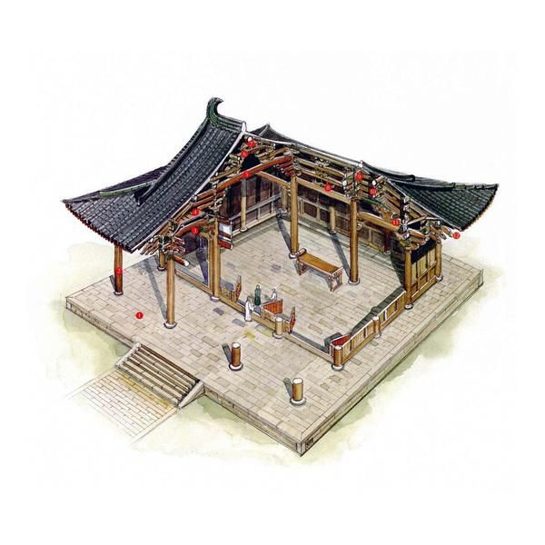 227 best images about ancient chinese architecture on for Architecture chinoise