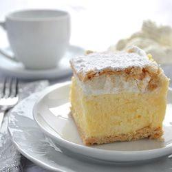 Try to guess why is Kremsnita (cream slice) the most popular cake dessert in Croatia?