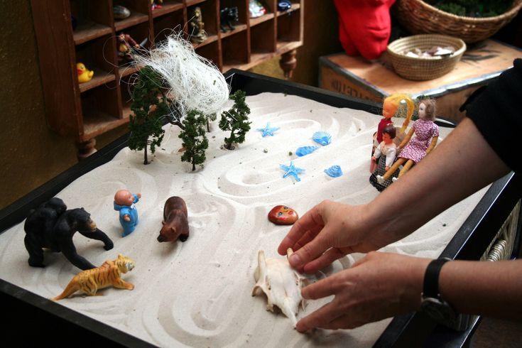Παιχνίδια στην άμμο και ψυχοθεραπεία…Sandplay