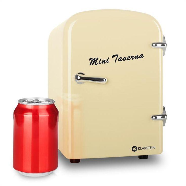 Klarstein Bella Taverna Kühlschrank Kühl-/Warmhaltebox Mini 4 Liter creme @klarstein