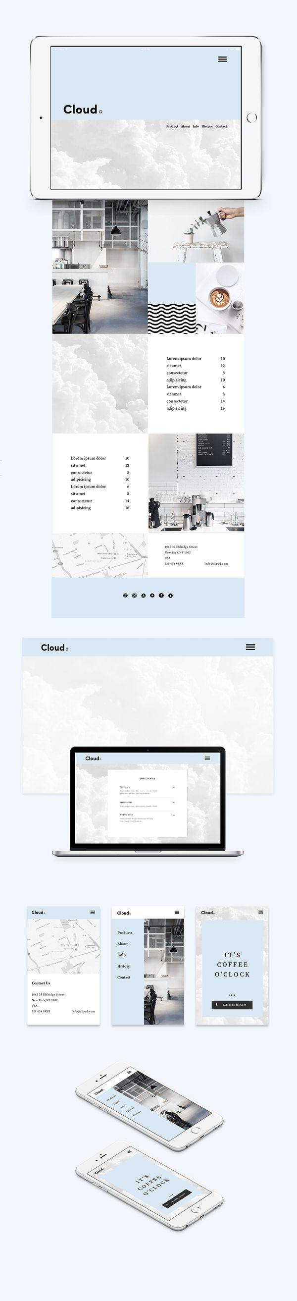Cloud.Coffee Shop on Branding Served
