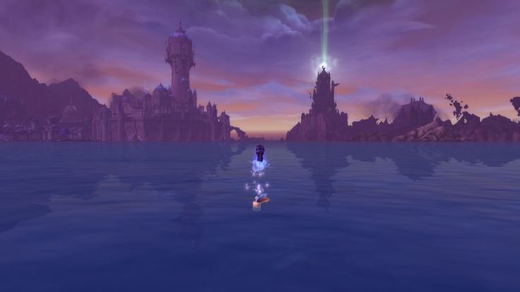 Beautiful view between the two towers #worldofwarcraft #blizzard #Hearthstone #wow #Warcraft #BlizzardCS #gaming