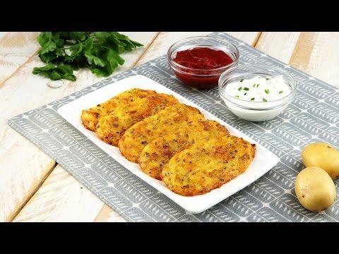 (26) Запеченные картофельные драники с сыром - YouTube