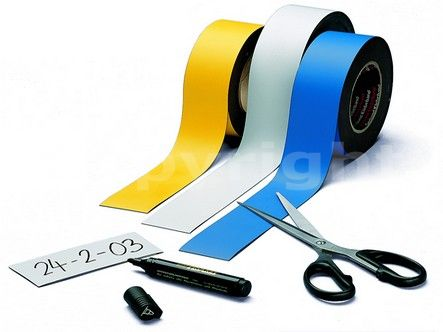 WRITABLE and ERASABLE magnetic labels - Magnetall Surl: Magnetic rubber manufacturing and processing - Magnetic Systems