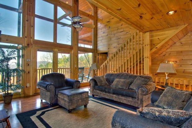 5 Bedroom Cabin Rental in Gatlinburg, Tennessee, USA - Luxury Cabin in Gatlinburg Resort, Very Secluded!