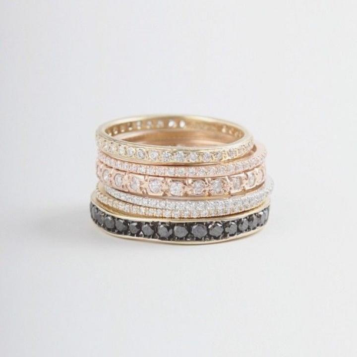 Black Diamonds / Wedding Style Inspiration / LANE