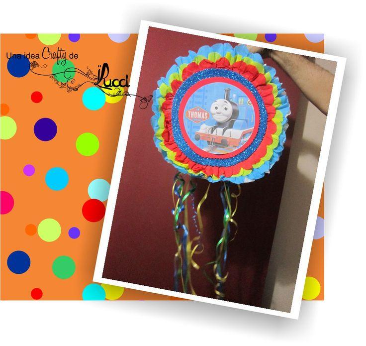PIÑATA TAMBOR. No es complicado realmente fabricar una piñata tipo tambor. Mira cómo puedes hacerlo en el blog.