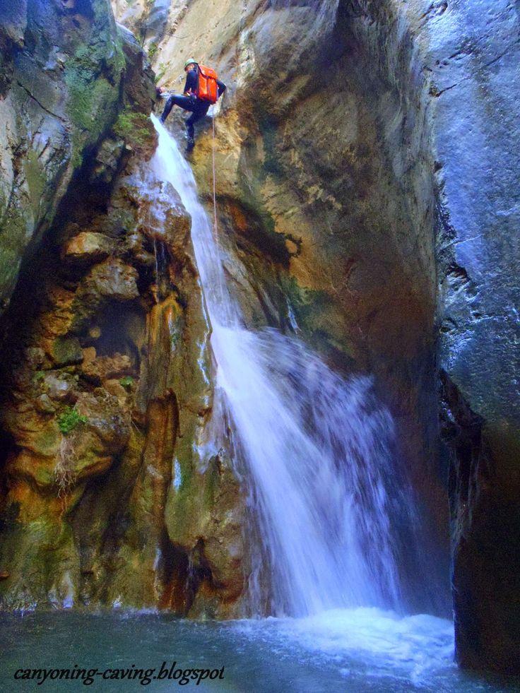 Xa canyon, Greece