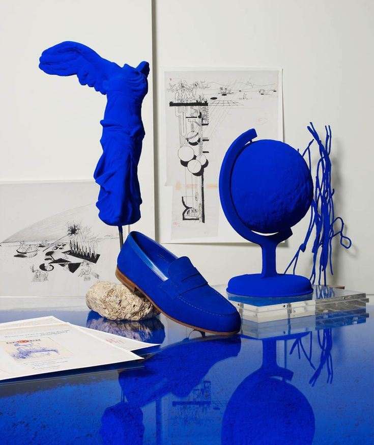 JM Weston for Wallpaper Magazine Yves Klein Blue