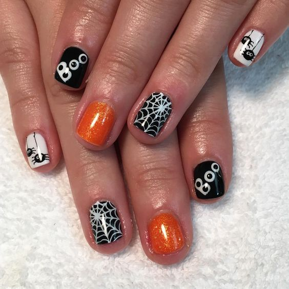 40 Delicate Cute Nails For The Upcoming Halloween 2019