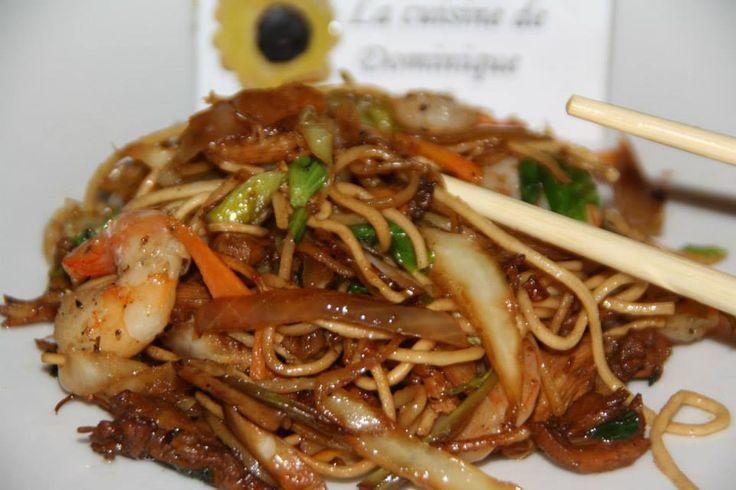 Je vous livre là une de mes recettes préférées ;) Une recette Asiatique , j'y suis née en Asie , et y voyage souvent , surtout en Asie du Sud Est . Sachez la reproduire et demandez moi au bes…