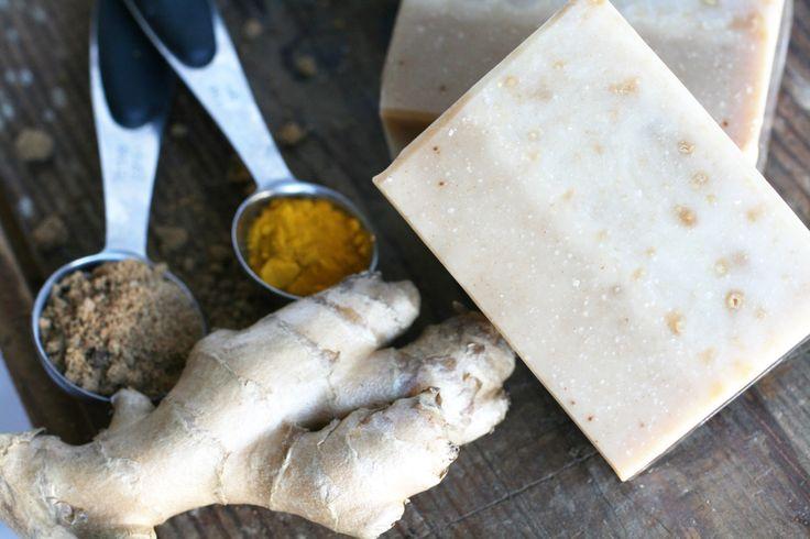 Ginger Soap - One Leaf Soap-Natural Handmade Soaps