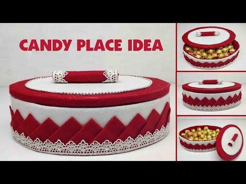 Ide Kreatif Tempat Permen Terbaru Dari Kain Flanel Candy