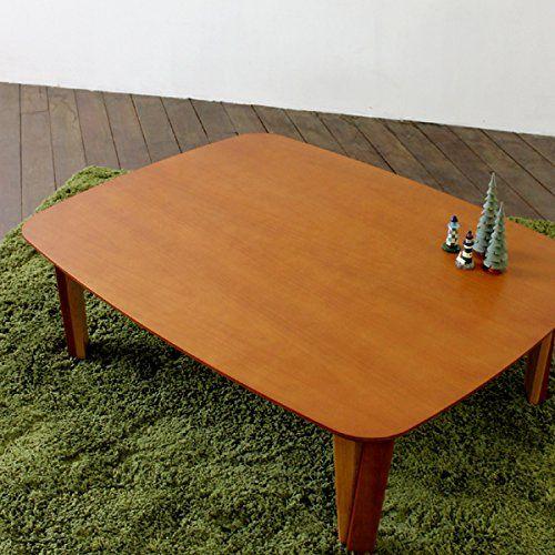 ORT 110cm×85cm リビングテーブル ブラウン 折れ脚 座卓 ちゃぶ台 センターテーブル 国産 日本製 木製 北欧 家具 テイスト 折りたたみ脚 仕様 LIVING TABLE ローテーブル アルダー材 円卓 角丸 折り畳み式 ORT http://www.amazon.co.jp/dp/B00NH8W974/ref=cm_sw_r_pi_dp_VQaFub1TNTP9D