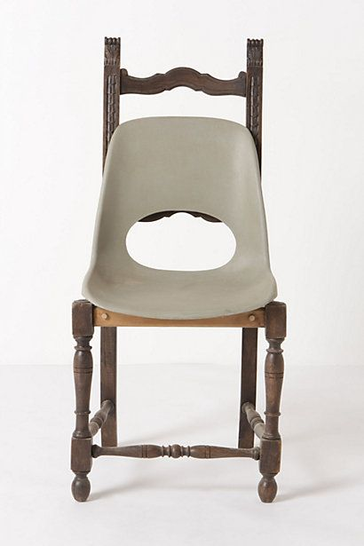 "Are you effing kidding me? This chair sells for $1800. WTF? You betcha I'm filing this under ""laughter."""