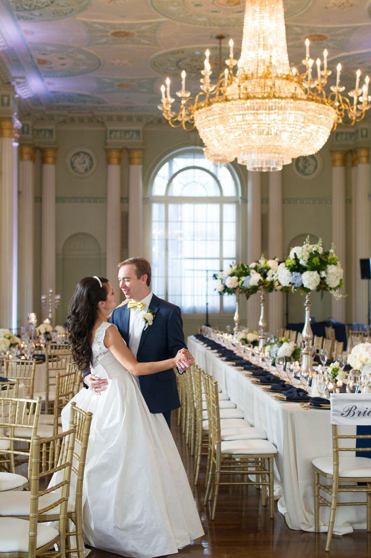 The Biltmore Ballrooms Georgian Ballroom Wedding Reception