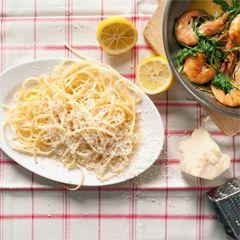 Rezept von Steffen Henssler: Linguine mit Chili Garnelen