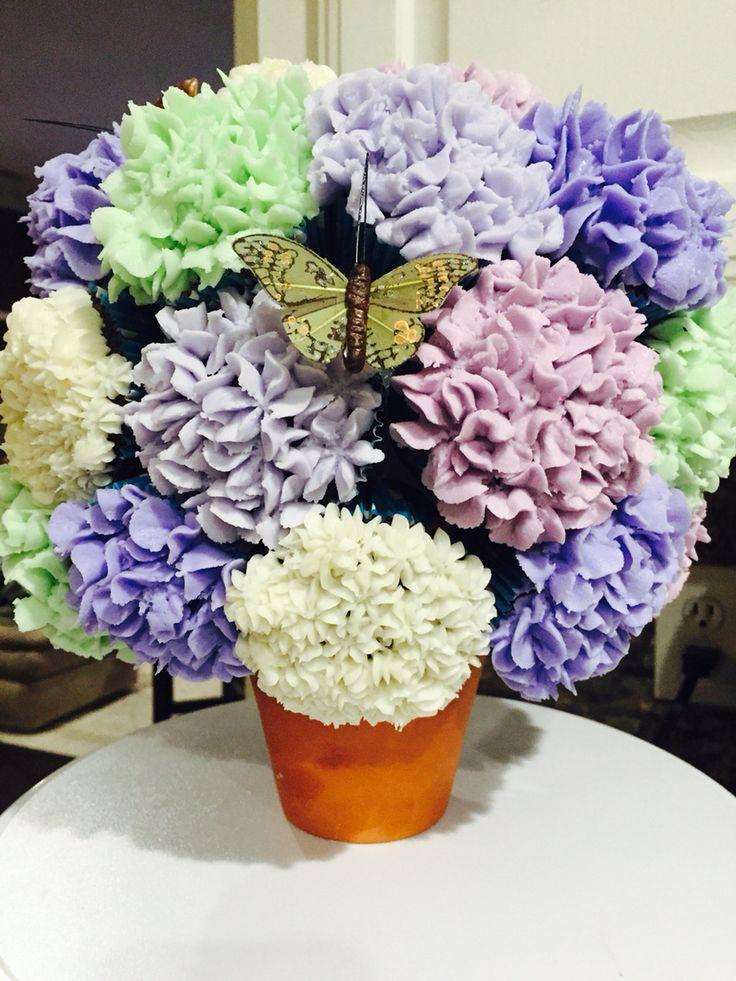 Best hydrangea cupcakes ideas on pinterest pretty