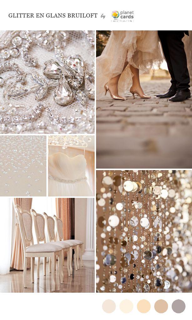 Glitter en glans bruiloft