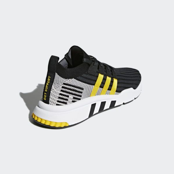 new arrival 4523b 37d9c adidas EQT Support Mid ADV PK Black Yellow   My Style   Adidas Adidas  sneakers และ Sneaker release