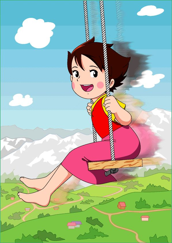 heidi swinging