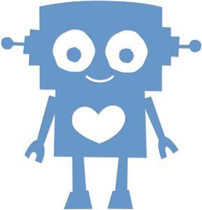 Silhouette Online Store: retro robot http://www.pinterest.com/vanou74/scanncut-and-cameo/