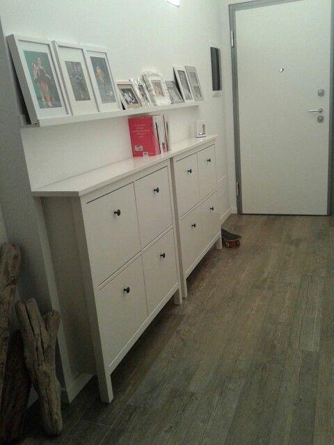 Ikea fun Ribba mensola per quadri - tips and design: arredare un corridoio lungo e stretto