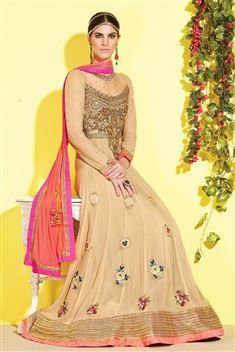 Long Floor Length Designer Anarkali Party wear Salwar Suit