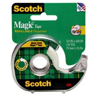 "137. ""Scotch"", Transparent adhesive tape, 3M, USA"
