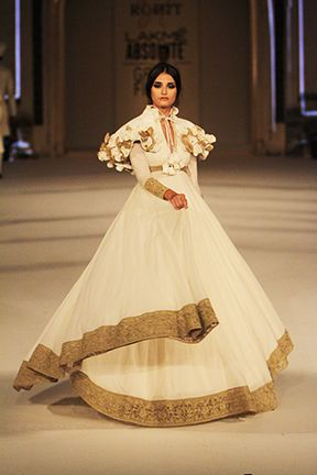 Rohm Bal for best of Lakme Fashion Week