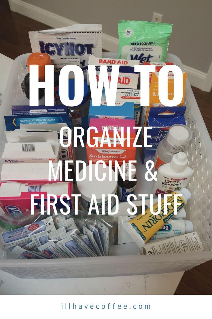 Easy medicine and first aid organization medicine