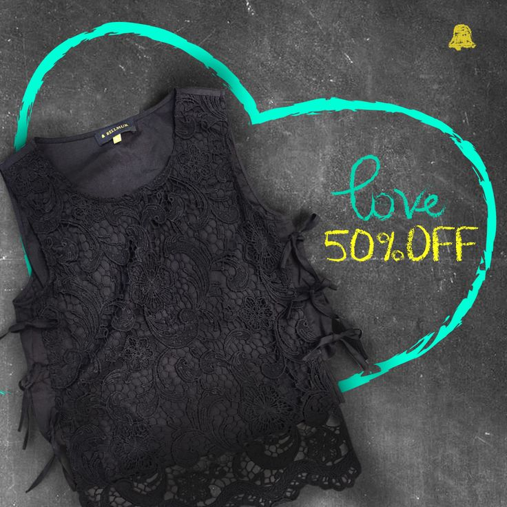 #SALE Countdown #Verano16  ¡Love 50% OFF!  - Musculosa Knots // BLBELL30  ¿Ya nos visitaste en nuestro local de Montevideo Shopping?