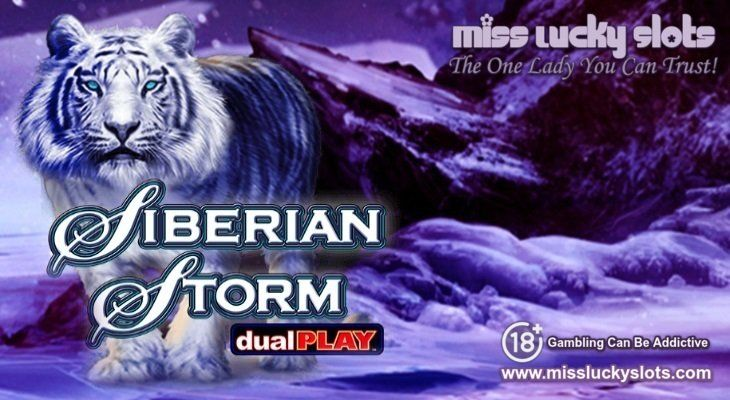 New IGT Slot Game - Siberian Storm Dual Play