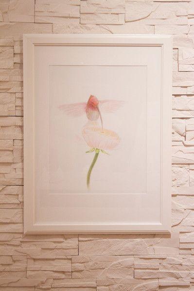 Original+°Flügelschlag°+40x50+cm+mit+Echtgold+von+TINA+ROOK+Kunst+die+berührt+auf+DaWanda.com