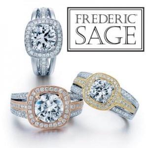 Frederic Sage Diamond Rings
