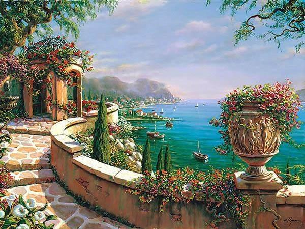 Capri Terrace- Bob Pejman
