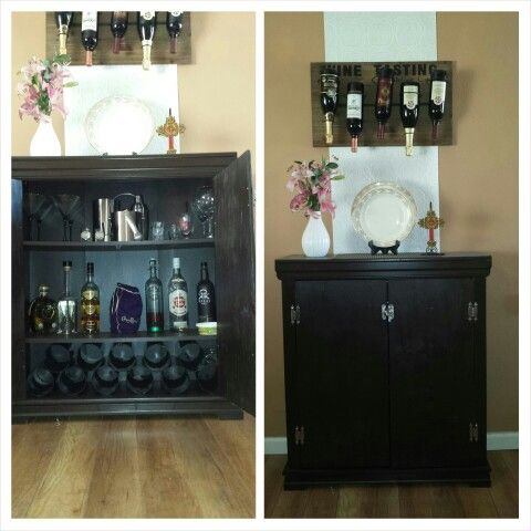 Best 25 alcohol cabinet ideas on pinterest liquor for Baby proof kitchen cabinets