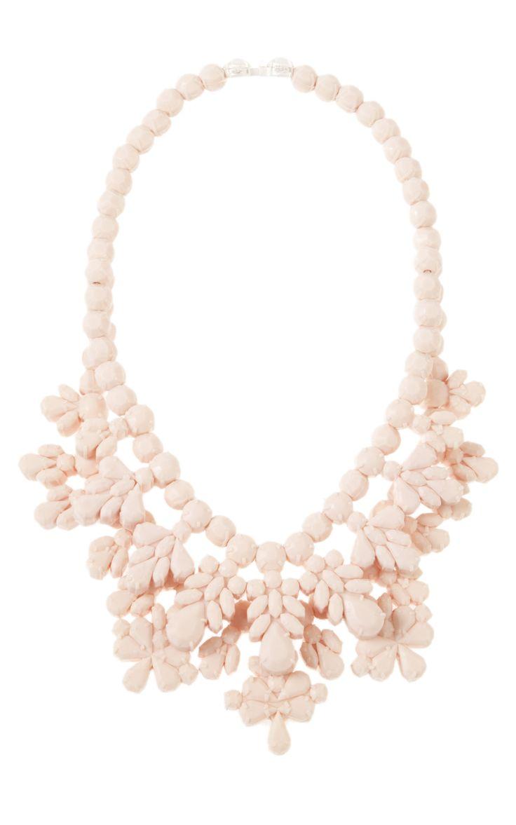 DIY crystal necklace