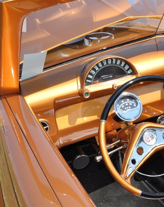 vintage ford car steering wheel dash photo by karen. Black Bedroom Furniture Sets. Home Design Ideas