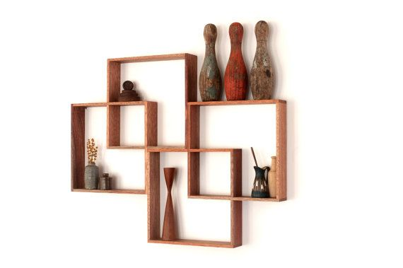 Shadow Box furniture. Wall hanging shelf. Display …