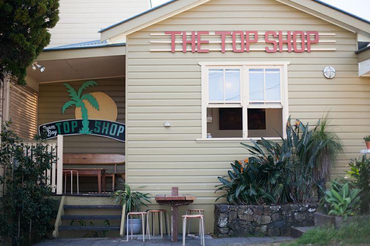 the top shop . byron bay