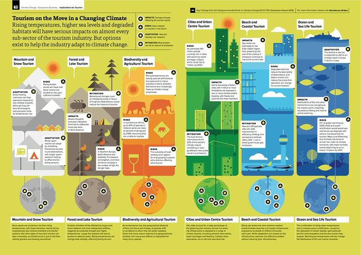 Cambridge tourism and climate change infographic