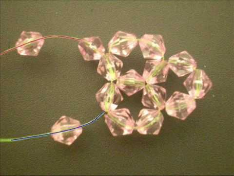 Tutorial: Sparkling crystal beaded phone charm ball with bell - YouTube