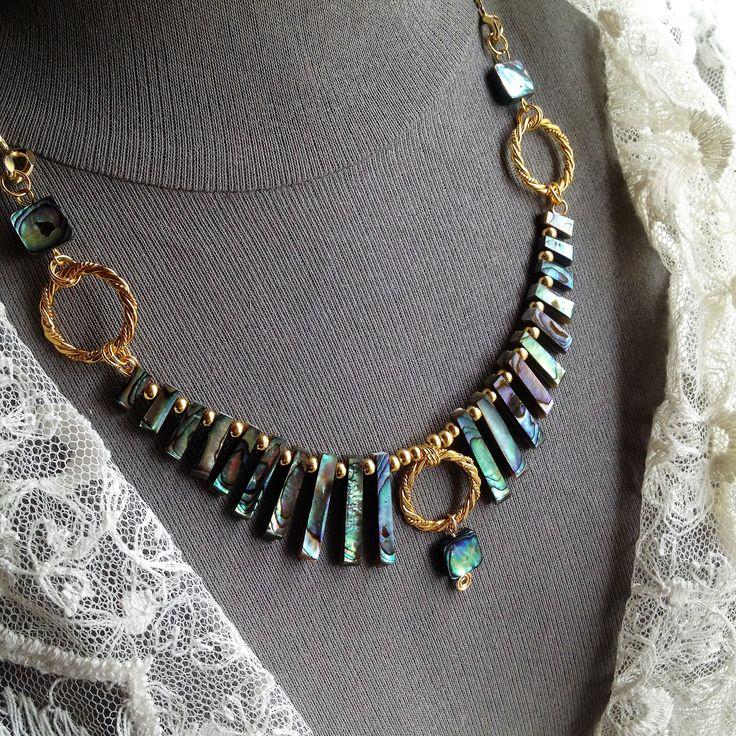 Abelone necklace    ......ianke ByZiza